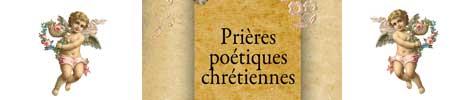 prieres poetiques chretiennes