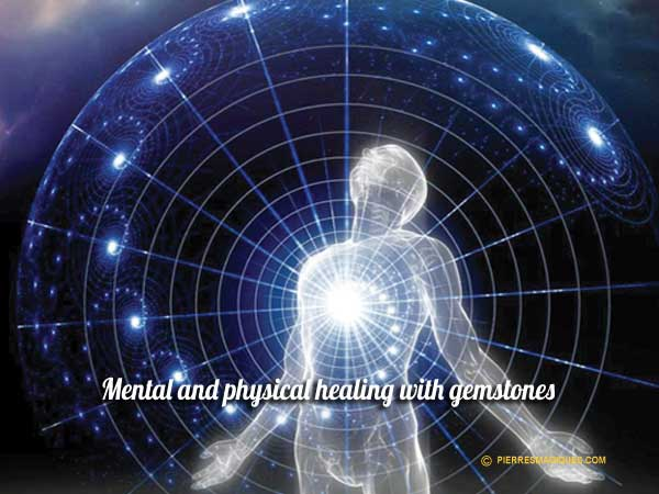 Mental and physical healing with gemstones