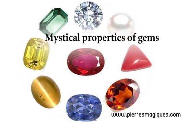 Mystical properties of gems