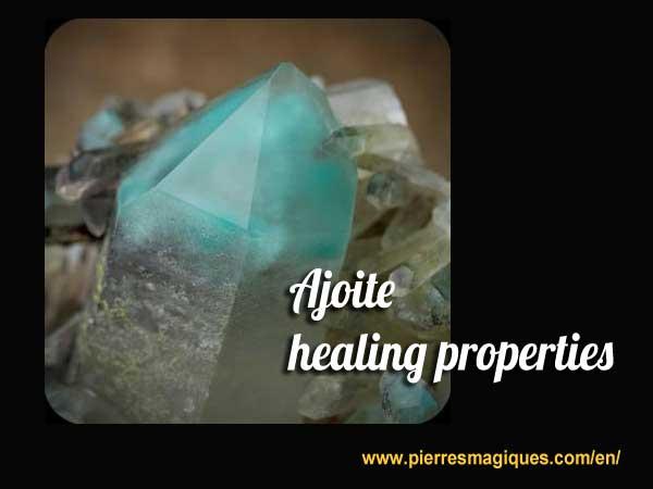 Ajoite healing properties