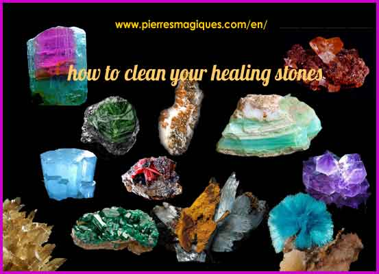 How To Clean Healing Stones