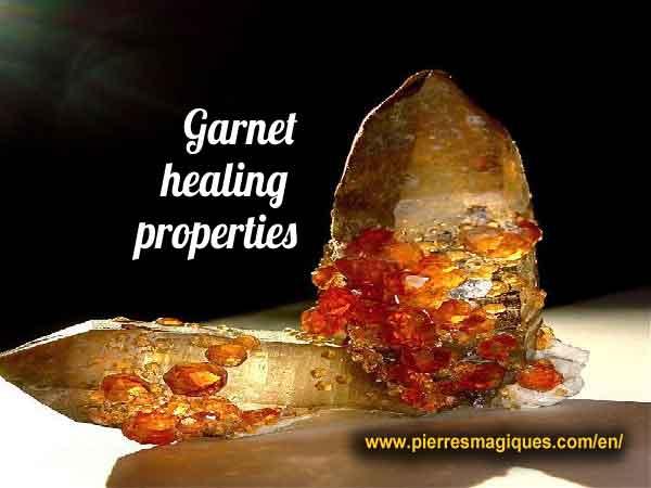 Garnet healing properties