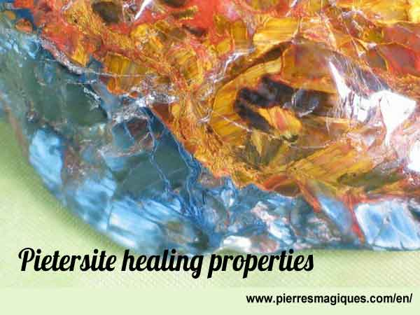 Pietersite healing