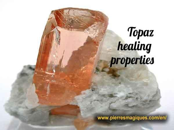 Topaz healing properties