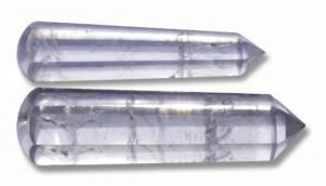 wand cristal de massage pour les soins de la peau