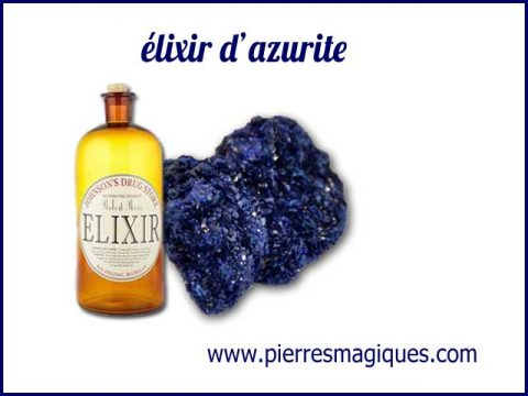 élixir de pierre azurite