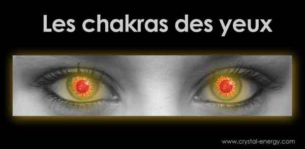 chakras des yeux