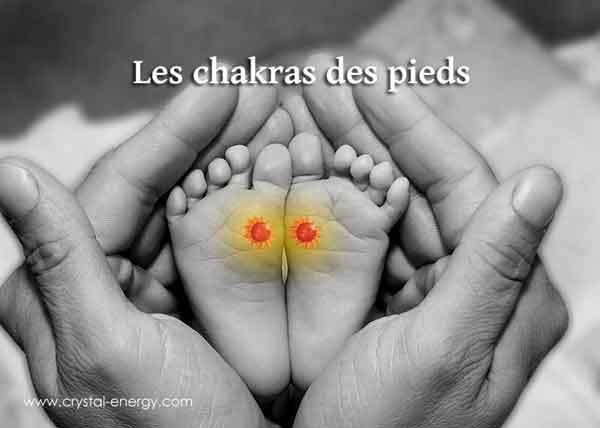 chakras des pieds