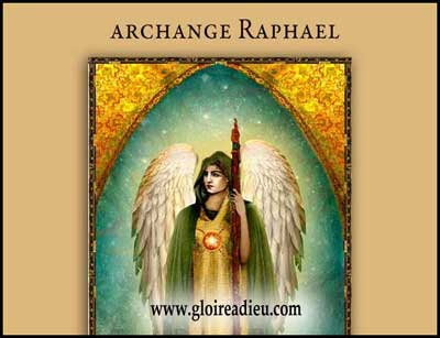 Raphaël ange de la guérison