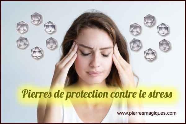 Pierres contre le stress, peur, anxiété, phobie, dépression - www.pierresmagiques.com