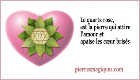 Le quartz rose une pierre pour trouver l'amour, l'âme soeur