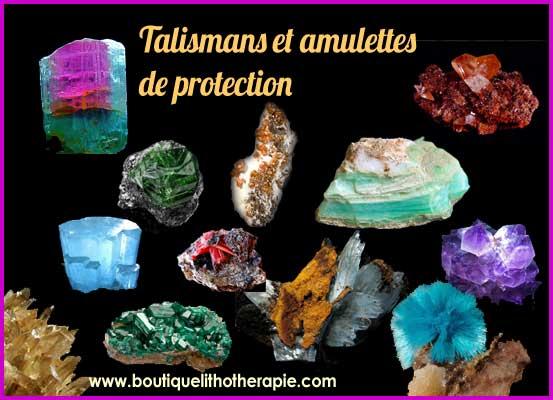 Talismans et amulettes de protection