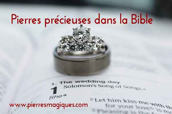 Pierres Precieuses Bible