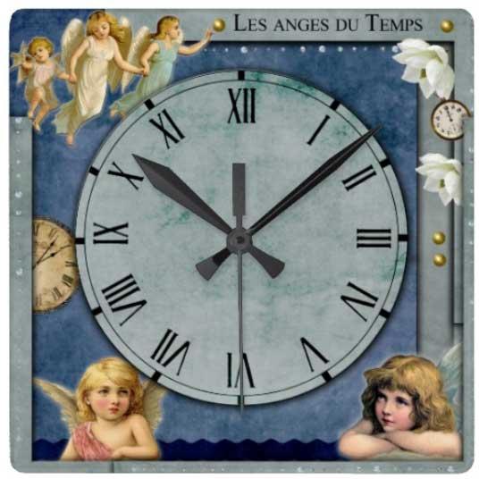 pendule les anges du temps idée cadeau