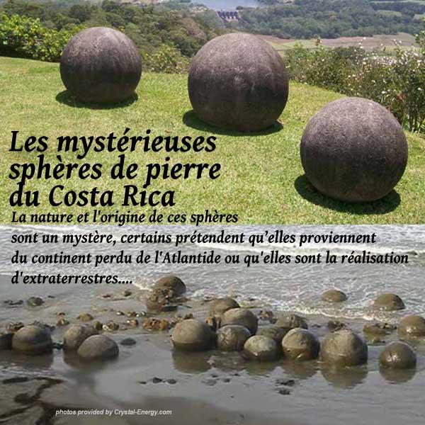 mystère des sphères en pierre du Costa Rica