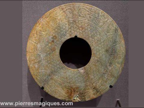 origine disque pi chinois jade