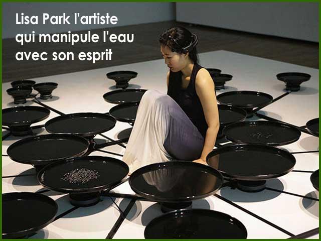 lisa park manipule eau avec esprit