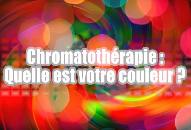 Les différents types de couleur pour les soins en chromatothérapie