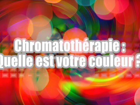 Chromatothérapie : quelle est votre couleur ?