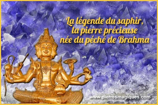 La légende du saphir, la pierre précieuse née du péché de Brahma