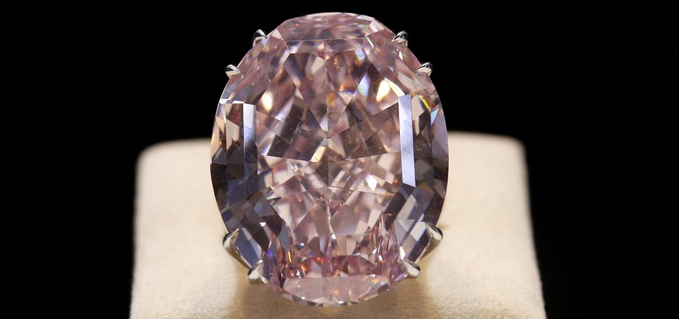vente diamant rose le plus cher du monde