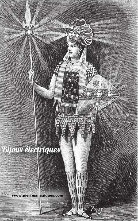 Les bijoux électriques de Gustave Trouvé - www.pierresmagiques.com