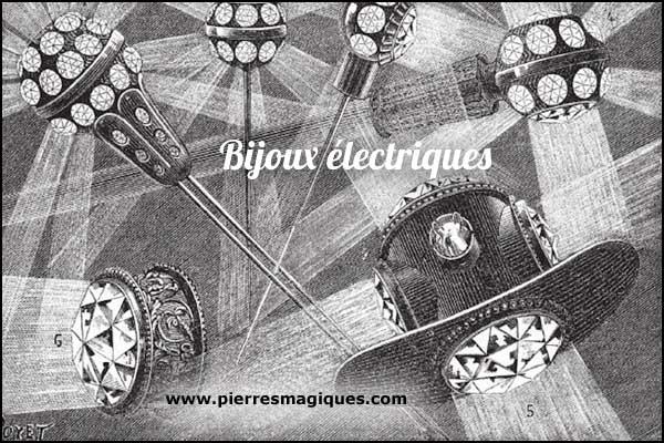 bijoux électriques épingle cravate - www.pierresmagiques.com