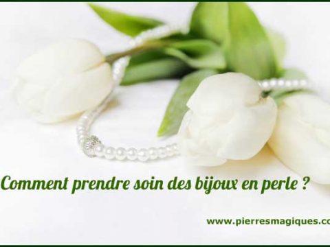 Comment prendre soin des bijoux en perle ?