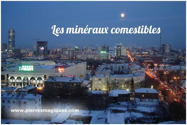 minéraux comestibles, peut-on manger des minéraux? - www.pierresmagiques.com