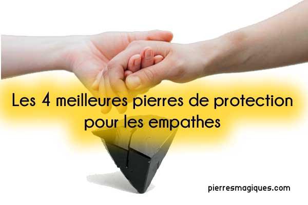 Les 4 meilleures pierres de protection pour les empathes
