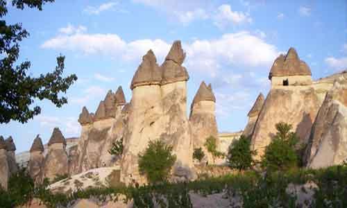 découverte des cheminées de fées - www.pierresmagiques.com