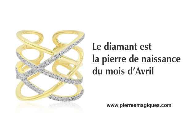 bague diamant et or
