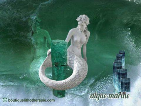 Les légendes de l'aigue-marine