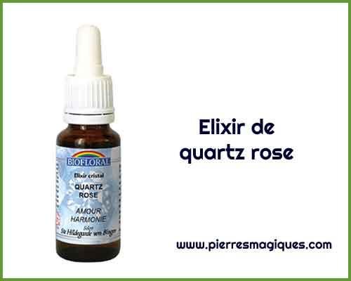 élixir de quartz rose