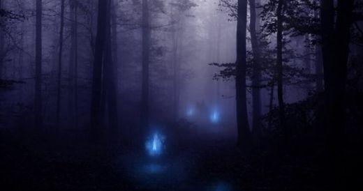 Les curieuses lumières des feux follets