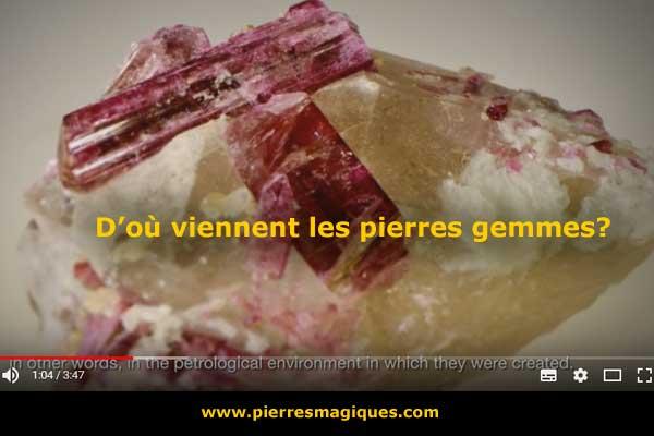 origine pierres gemmes