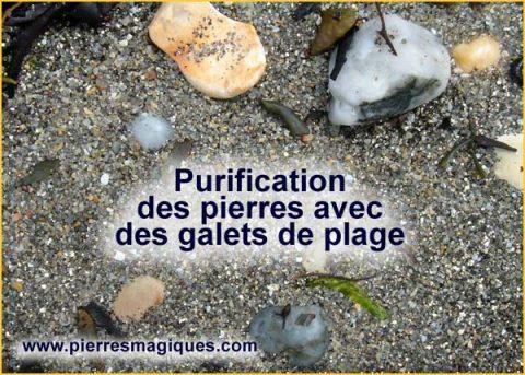 Purifier vos pierres avec des galets de quartz