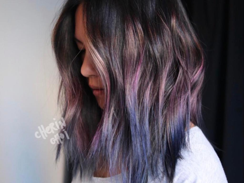 Geode hair : la coloration aux allures de pierres précieuses