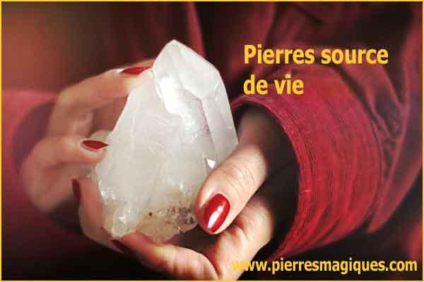 cristaux de cristal de roche - www.pierresmagiques.com