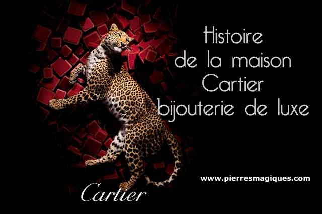 Cartier bijouterie de luxe