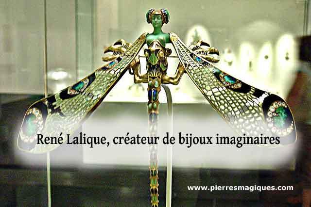 lalique pectoral à la libellule