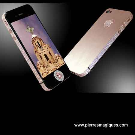 Stuart Hughes Iphone 4 Diamond Rose