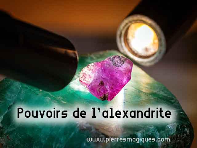 Pouvoirs Alexandrite