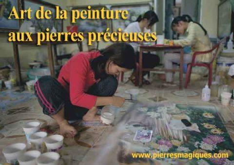 Les artistes des pierres précieuses de Luc yen