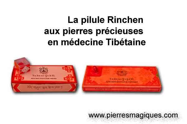 La pilule Rinchen aux pierres précieuses en médecine Tibétaine