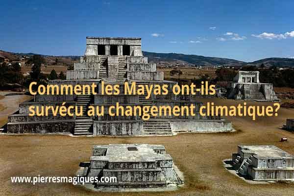 Comment les Mayas ont-ils survécu au changement climatique?